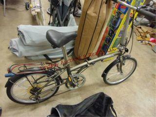 Dahon Yeah folding bicycle w  carry bag