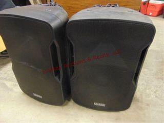 Edison Pro 1505 MKVI powered speakers
