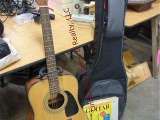 Fender Mod  DG85 Nat acoustic guitar w  stand