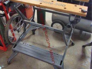 B D workmate 300 adj table  29 w x 15 d