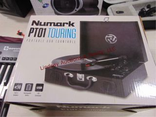 Newmark PT01 Touring portible usb turn table
