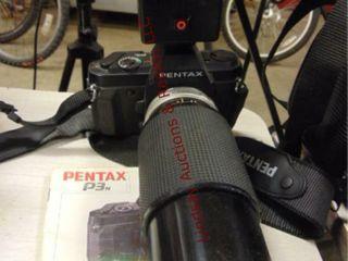 Pentax P3N 35mm camera