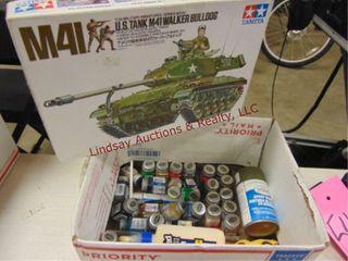 Tank model   tester paint