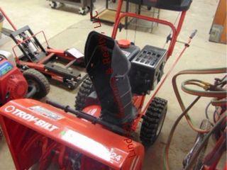 Troybilt storm 2410 elec start snow blower