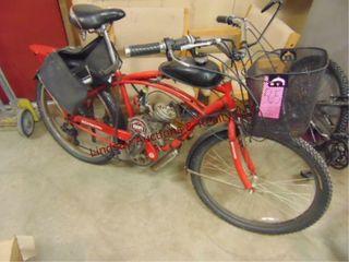 Schwinn motorized bike BBR tuning w  basket