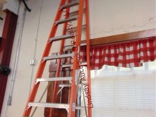 Werner 12ft fiberglass ladder 300lb cap