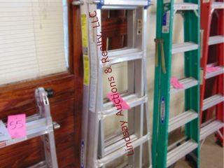 Werner multi function ladder 21ft 300lb cap