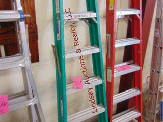 Werner 6ft fiberglass ladder 225lb cap