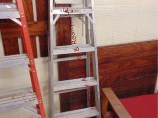 Alum 6ft ladder