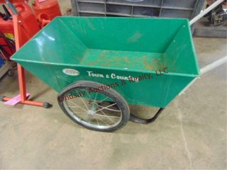 Radio Flyer Town   Country yard cart 36 x22