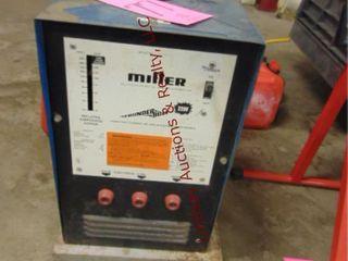 Miller arc welder on whls