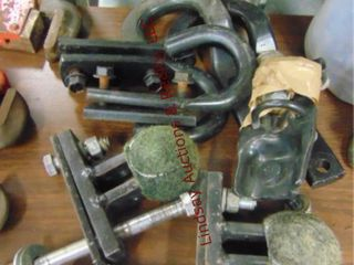 3 sets of tow hooks