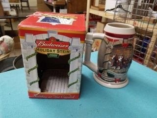2001 HOlIDAY AT CAPITOl BUDWEISER STEIN
