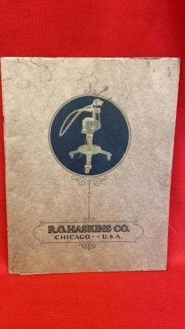 R G HASKINS CO FlEXIBlE SHAFT EQUIPMENT 1928