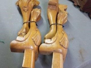 4 BAll AND ClAW TABlE lEGS