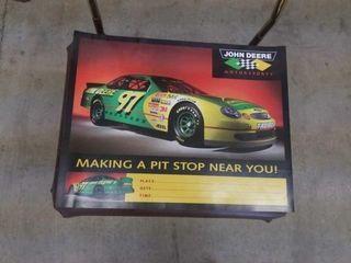 14 X18  NASCAR 1997 2000 JOHN DEERE POSTER