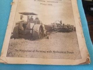 POWER FARMING MAGAZINE  MAY  1916