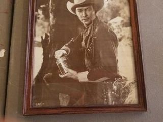 ROY RODGERS IN PERSON SIGNED PHOTO AT MUSEUM