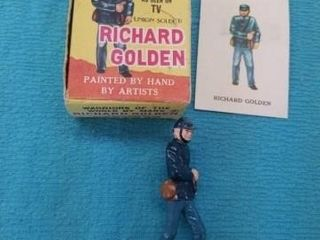 VINTAGE MARX TOYS  RICHARD GOlDEN   SOlDIER WITH
