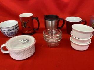 CUPS  SOUP MUGER  BOWlS