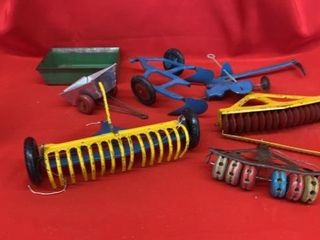 VINTAGE TOY IMPlEMENTS