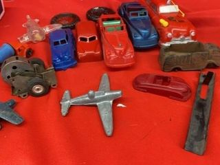 VINTAGE TOY VEHIClES AND PARTS