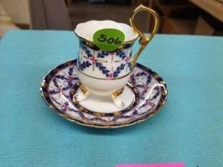 FlOW BlUE DEMI CUP AND SAUCER