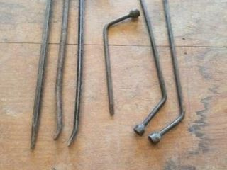 CROW BARS AND VEHIClE TIRE WRENCHES