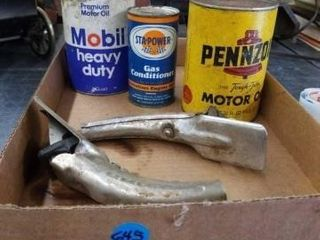 MOTOR OIl  GAS CONDITIONER  CAN FUNNElS