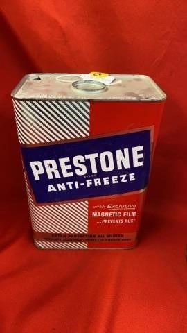 PRESTONE ANTIFREEZE TIN 1 GAllON