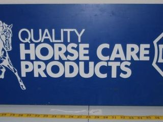 CUTTER QUAlITY HORSE CARE PRODUCTS SIGN