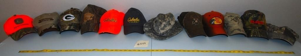 GROUP OF MISC  HUNTING HATS