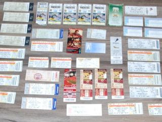GROUP OF MISC  TICKET STUBS