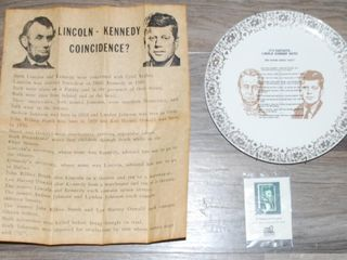 lINCOlN   KENNEDY MISC