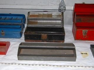 GROUP OF TOOlBOXES