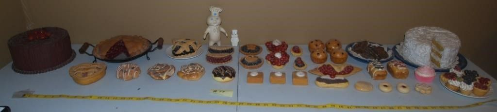 GROUP OF MISC  FAKE DESSERTS