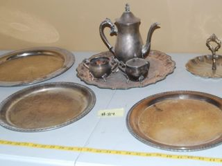 VINTAGE lEONARD SIlVER PlATED COllECTIBlES