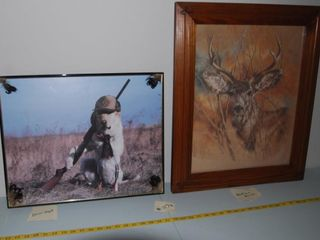 GROUP OF MISC  HUNTING PICTURES