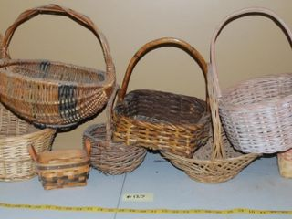 GROUP OF MISC  BASKETS