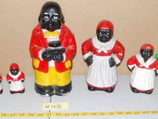 MAMMY   UNClE MOSE CERAMIC COllECTIBlES