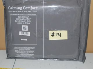 BRAND NEW CAlMING COMFORT WEIGHTED BlANKET COVER