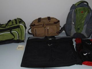 GROUP OF MISC  BAGS   lUGGAGE