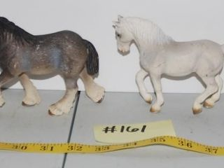 GROUP OF MISC  HORSE FIGURINES