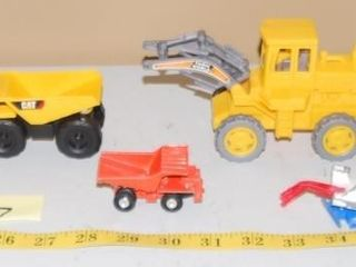 GROUP OF MISC  CONSTRUCTION EQUIPMENT TOYS