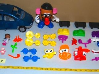 GROUP OF MISC  TOYS