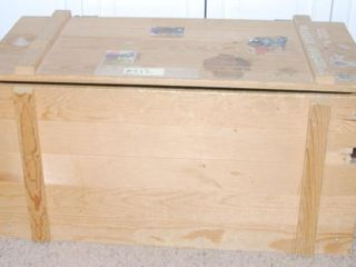 HOMEMADE WOODEN TOY BOX