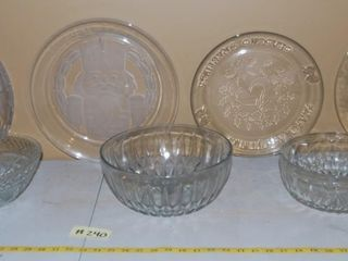 GROUP OF MISC  GlASSWARE