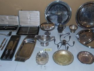 MISC  SIlVER PlATED ITEMS