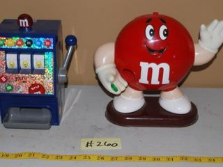 M M CANDY DISPENSERS
