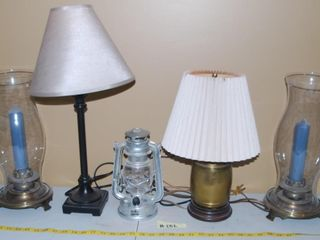 GROUP OF MISC  lAMPS